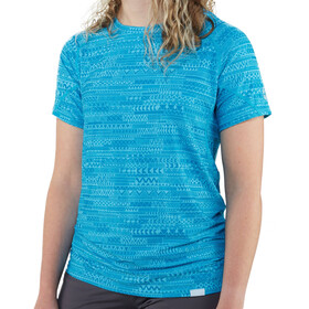 NRS H2Core Silkweight T-shirt Dames, cyan